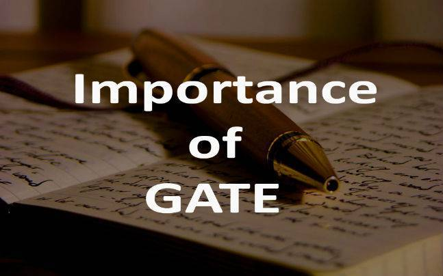 Importance of GATE